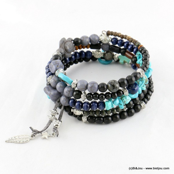 bracelet tribal multi-tours 0216501