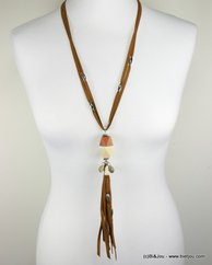 collier 0117004 naturel/beige