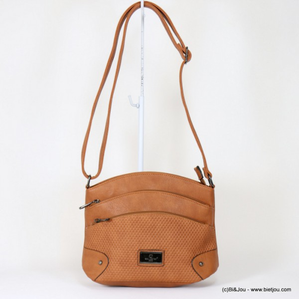 sac à bandoulière Gallantry femme simili-cuir 4-zip 0917509