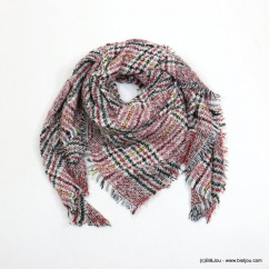 foulard carreaux carré 0718524