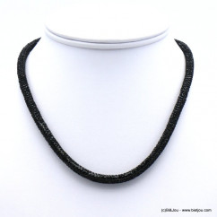 collier tube strass 0119635