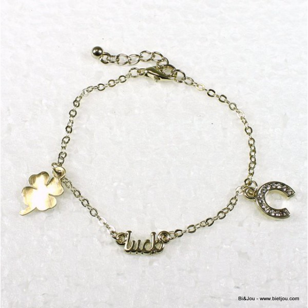Bracelet Breloque Luck